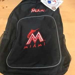 Brand new with tags Licensed MLB Miami Bookbag
